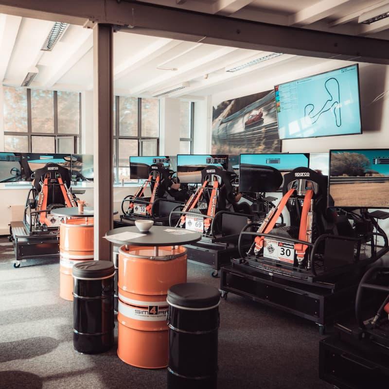 Motorsportsimulation Mönchengladbach