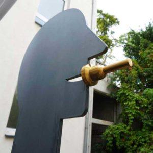 Skulptur auf der Skulpturenmeile in Moenchengladbach