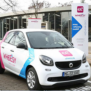 NEW Wheesy Shared Mobility