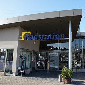 Radstation Fahrrad Parkhaus